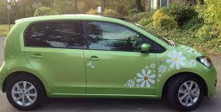 Crazy Daisy Car Stickers