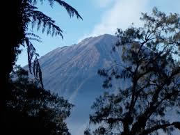gunung agung gunung bagging