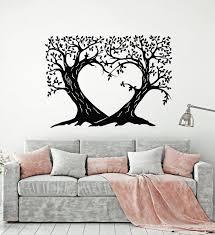 Vinyl Wall Decal Tree Branch Romantic Love Bedroom Art Stickers Mural Wallstickers4you