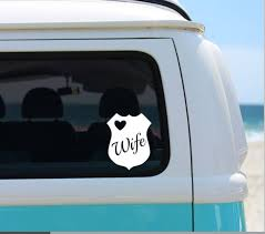 Police Wife Vinyl Decal Police Support Decal Phone Decal Etsy