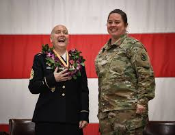 Today was a milestone day for CSM Abby... - Washington National Guard |  Facebook