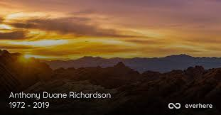 Anthony Duane Richardson Obituary (1972 - 2019) | San Antonio, Texas