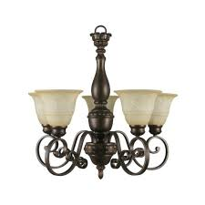 bronze sconce with scavo glass shade