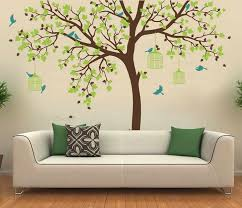Romantic Flower Tree Vinyl Wall Stickers Decoration Nursery Room Decor Baby Room Wall Decal Perfect Quality Wallpaper D371c Vinyl Wall Stickers Wall Stickerwall Decals Aliexpress