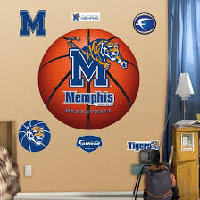 Ncaa Memphis Tigers Basketball Wall Decal Sticker Wall Decal Allposters Com
