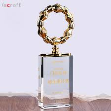 cooperate gifts crystal trophies