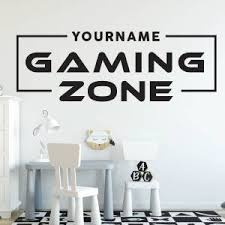 Hot Promo 059cf4 Game Zone Loading Wall Sticker Decals Home Decor For Kids Room Bedroom Gaming Room Decals Mural Cicig Co
