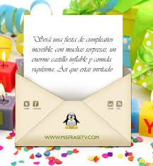 Frases De Invitacion De Cumpleanos Invitaciones Para Cumpleanos