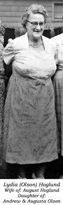 Lydia A Olson Hoglund (1893-1972) - Find A Grave Memorial