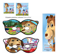 Kit Imprimible El Perro Chocolo Candy Bar Invitaciones 129 00