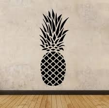 Pineapple Vinyl Wall Art Decal Sticker Decor Oracle Removable Ebay