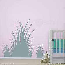 Clumps Of Grass Wall Decals Various Sizes And Colors Graphicsmesh
