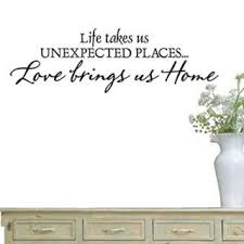 Shop Life Takes Us Unexpected Places Vinyl Wall Decal On Sale Overstock 9054242