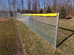 Baseball Fence Crown Poly Tube Fence Cap