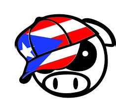 Puerto Rico Flag Sticker Puerto Rico Flag Jdm Angry Pig Import Drift C The Macpag Store