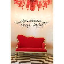 Classy Fabulous Wall Decal Bellechic