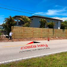 Wood Fences Sarasota Fl Fence Repair And Installation Costakey