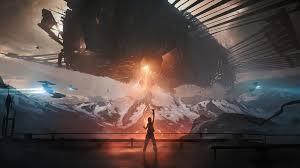 sci fi eship 4k wallpaper 4 1025