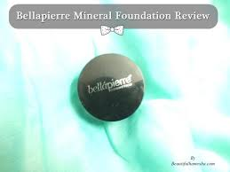 bellapierre mineral foundation review