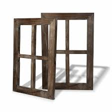 Fake Window Wall Decal Mount Frame Art Living Room Decor Rustic Decoration 2pc For Sale Online