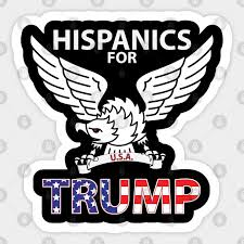 Hispanics For Trump Hispanics For Trump Sticker Teepublic