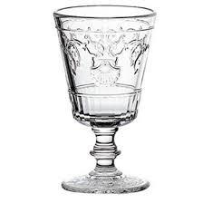 verre versailles wine glasses 200ml set