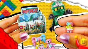 DIY Miniature LEGO NINJAGO Blind Bag ❤️ Mini Lego Friends Toy ...