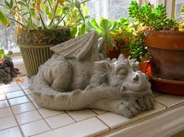 dragon statue concrete dragons meval