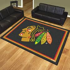 chicago blackhawks 1 4 plush area rug