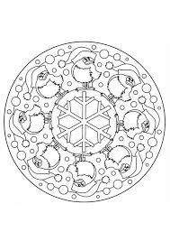 Kleurplaat Kerst Mandala Gratis Kleurplaten Om Te Printen