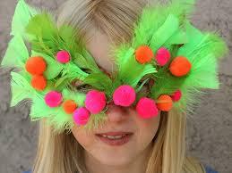 homemade purim mask jewish holiday craft
