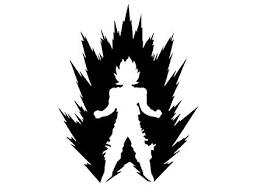 Goku Vector Illustration Decal Sticker Dragon Ball Z