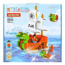 Chỉ 227,700đ Bộ lắp ráp Tàu chiến Đảo hải tặc One Piece Nine Snake ...