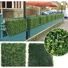 A Rated Boxwood Hedge Fence Panels 12 Pack 20 X 20 33 Sq Ft Privacy Fence Plant Wall Artificial Hedge Outdoor Privacy Leaf Wall Indoor Outdoor Fence Panel W Bonus Gifts Buy