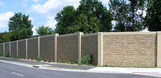 Noise Barrier Sound Absorptive Precast Concrete Noise Barrier