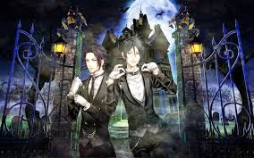 black butler characters wallpaper
