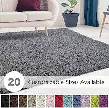 super soft plush solid rug