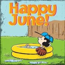 Hello June | Happy june, Snoopy love, Charlie brown