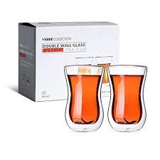 original double wall turkish tea glass