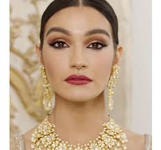 asian bridal makeup look wedding