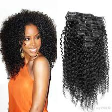 clip in afro hair extension 100g