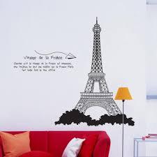 Paris Eiffel Tower Wall Decal Giant Etsy Design Gold Personalized Sticker Amazon Walmart Vamosrayos
