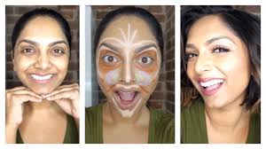 how clown contouring color correcting