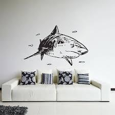Shark Vinyl Wall Art Decal