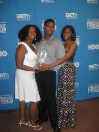 Producers Kiara C. Jones, Kiel Adrian Scott & Noelle Barnes pose ...