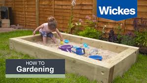 How To Build A Sandpit With Wickes Youtube
