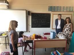 Comune di Pisa   Prima campanella, il Sindaco Conti in visita alle ...