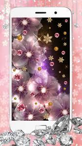 صور الماس على شكل خلفية متحركة مع توهج و بريق For Android Apk