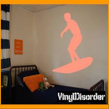 Surfing Wall Decal Vinyl Decal Car Decal Al 007