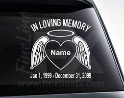 Decals Stickers Vinyl Art Star Of Life Emt Paramedic In Memory Memorial Custom Vinyl Decal Sticker Car Netpackmdz Com Ar